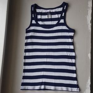 *Free with bundle!* Gap striped ribbed tank top